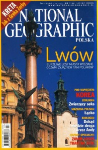 7/2003 NATIONAL GEOGRAPHIC POLSKA LWÓW KOREA