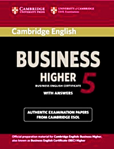 CAMBRIDGE ENGLISH BUSINESS 5 HIGHER  ANSWERS CD
