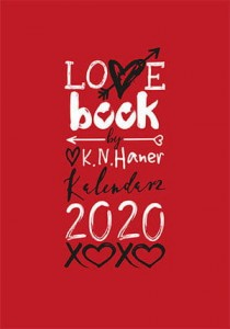 LOVE BOOK BY K N HANER KALENDARZ 2020 K N HANER