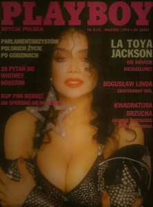 3/1993 PLAYBOY LA TOYA JACKSON WHITNEY HOUSTON