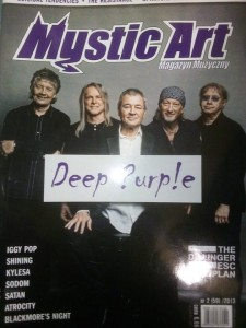 2/2013 MYSTIC ART DEEP PURPLE TARJA TURUNEN IGGY POP