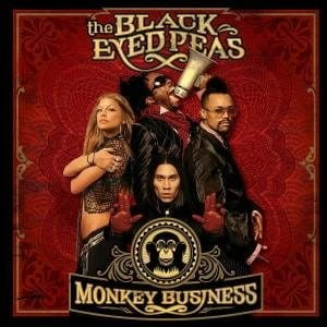 THE BLACK EYED PEAS MONKEY BUSINESS CD FOLIA