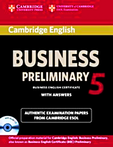 CAMBRIDGE ENGLISH BUSINESS 5  PREELIMINARY ANSWERS CD