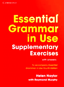 ESSENTIAL GRAMMAR IN USE SUP EXERCISES MURPHY 4