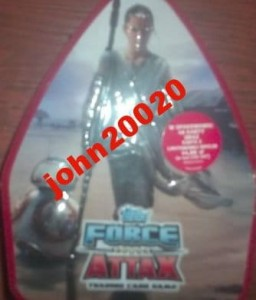 STAR WARS TAPPS FORCE ATTAX.KARTY