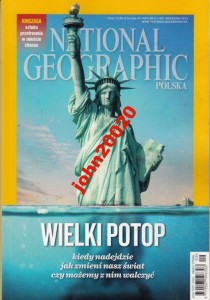 9/2013 NATIONAL GEOGRAPHIC.WIELKI POTOP