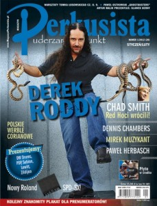 1/2012 PERKUSISTA DEREK RODDY CHAD SMITH + CD