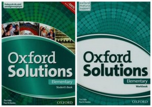 OXFORD SOLUTIONS ELEMENTARY PODR + ĆW ENGLISH