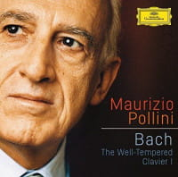 MAURIZIO POLLINI 2 CD BACH THE WELL TEMPERED CLAVIER I