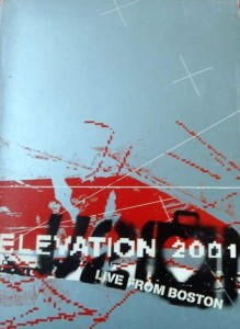 ELEVATION 2001 U2 2x DVD