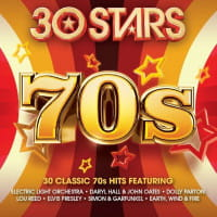 30 STARS 70S CD ELECTRIC LIGHT ORCHESTRA DYLAN BOB EARTH WIND & FIRE THE JACKSONS REED LOU