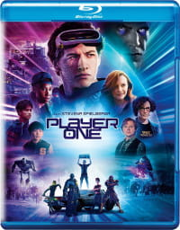 PLAYER ONE BLU-RAY STEVEN SPIELBERG James Halliday