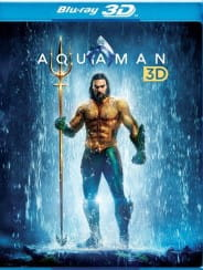 AQUAMAN 3D 2 BLU-RAY JAMES WAN