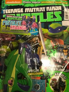 10/2014  TEENAGE MUTANT NINJA TURTLES + PISTOLET KRAANGA