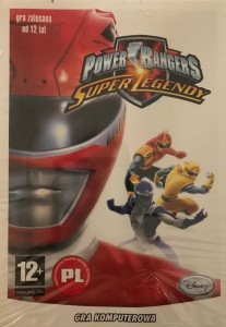 POWER RANGERS SUPER LEGENDY DISNEY GRA PC DVD-ROM