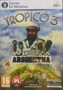 TROPICO 3 WŁADZA ABSOLUTNA PC DVD-ROM