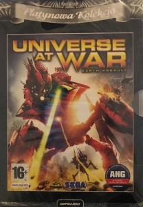 UNIVERSE AT WAR EARTH ASSAULT GRA PC DVD-ROM