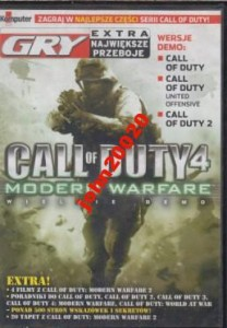 CALL OF DUTY 4.MODERN WARFARE.WERSJA DEMO.DVD
