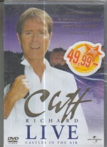 CLIFF RICHARD LIVE CASTLE IN THE AIR DVD.FOLIA
