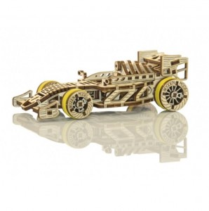 DREWNIANE PUZZLE 3D BOLID WOODEN CITY