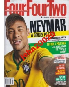 1/2015 FOUR FOUR TWO.NEYMAR,LINEK