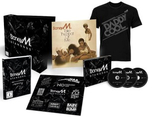 BONEY M DIAMONDS 40TH ANNIVERSARY EDITION 3 CD + DVD + LP
