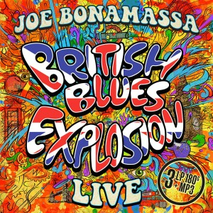 JOE BONAMASSA BRITISH BLUES EXPLOSION LIVE 3 LP BLACK