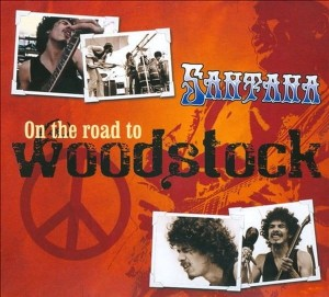 SANTANA ON THE ROAD TO WOODSTOCK CD