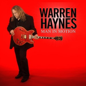 WARREN HAYNES CD MAN IN MOTION