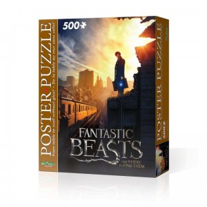 PUZZLE PLAKATOWE 500 ELEMENTÓW FANTASTIC BEASTS NEW YORK CITY