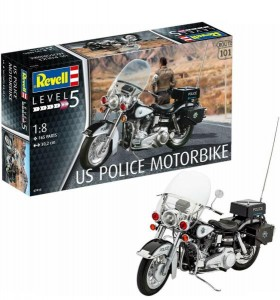MODEL MOTORU US POLICE 1:8 DO SKLEJANIA