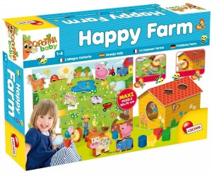 CAROTINA BABY HAPPY FARM PUZZLI
