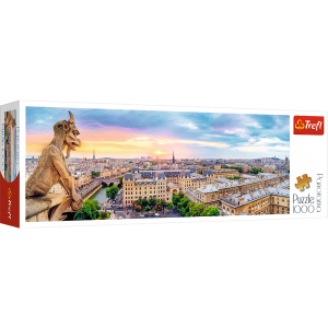 PUZZLE 1000 WIDOK Z KATEDRY NOTRE DAME PANORAMA