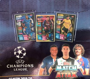 CHAMPIONS LEAGUE 2019/20 MATCH ATTAX 1 LIMITED EDITION