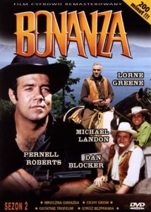 BONANZA SEZON 2 ROBERTS BLOCKER LANDON PL DVD