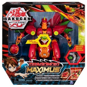 BAKUGAN SMOK MAXIMUS TRANSFORMER