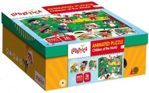 LUDATTICA ANIMATED PUZZLE CHILDREN OF THE WORLD