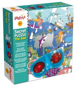 LUDATTICA SECRET PUZZLE THE SEA