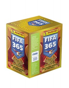 FIFA 365 2020 THE GOLDEN WORLD OF FOOTBALL 250 NAKLEJEK