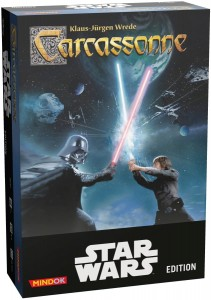CARCASSONNE STAR WARS EDITION GRA STRATEGICZNA