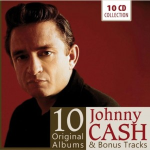JOHNNY CASH 10 ORIGINAL ALBUMS & BONUS TRACKS 10 CD