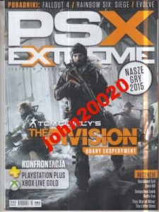 2/2016 PSX EXTREME.THE DIVISION.CLANCY`S