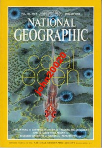 NATIONAL GEOGRAPHIC JANUARY 1999.CORAL.LAWRANCE