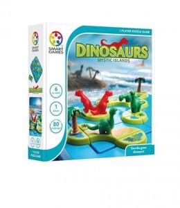 SMART GAMES DINOZAURY MYSTIC ISLANDS GRA PLANSZOWA
