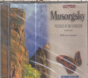 MUSORGSKY PICTURES AT AN EXHIBITION CD NOWA FOLIA