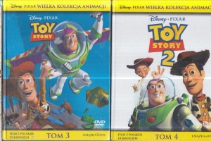 TOY STORY 1-2 DVD DISNEY DUBBING
