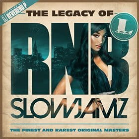 THE LEGACY OF RN'B SLOW JAMZ CD SKŁADANKA