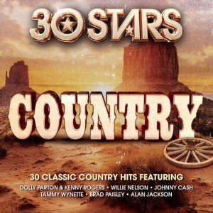 30 STARS COUNTRY PARTON DOLLY CASH JOHNNY  CD