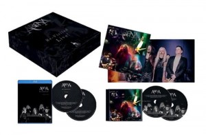 ARENA RE-VISITED LIVE BOX CD + DVD + BLU-RAY