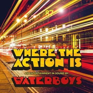 WHERE THE ACTION IS   WATERBOYS THE LP WINYL